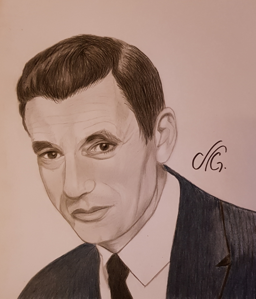 Yves Montand by Nicky08